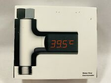 LED Digital Shower Temperature Display Thermometer Monitor Waterproof