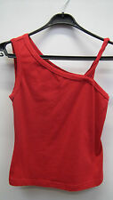 Red One Shoulder Tshirt from Xoxo Jeans size M