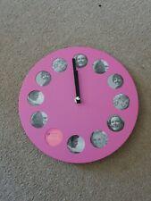 Pink Photo Clock