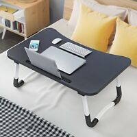 Wood Lap Tray Breakfast Desk Laptop Table Sofa Notebook Bed Folding Portable a