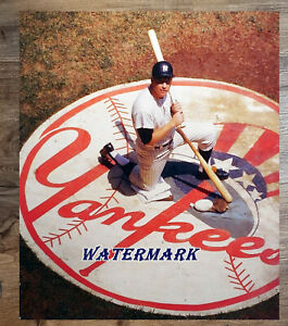 MLB Mickey Mantle New York Yankees Color 8 X 10 Photo Picture