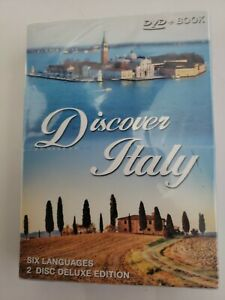 Discover Italy 6 Languages 2 CD Set Deluxe Edition+Book Travel History  Culture