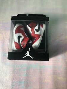 Nike Jordan 1 Crib Bootie- Brand New - UK1.5/ Red And Black