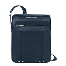 Piquadro Link Blue Small Shoulder Pocket Bag CA1591LK/BLU2