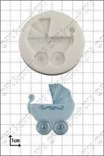Silicone mould Baby Carriage | Food Use FPC Sugarcraft FREE UK shipping!