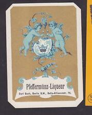 Ancienne étiquette  Alcool   BN24454 Liqueur Ange