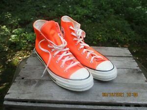 Converse Chuck 70 High 'Total Orange' - 167700C - Size: Mens 11 - Sneakers NEW