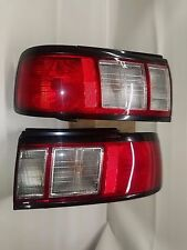 BRAND NEW Red Clear TailLights JDM Nissan Sentra91-94 , SUNNY B13, SUPER SALOON