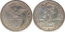 Philippines 1 Peso Femme et forge - Etats Unis - 1908 S San Francisco Argent