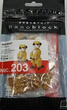 Meerkat Nanoblock Miniature Building Blocks New Sealed Pk NBC 203