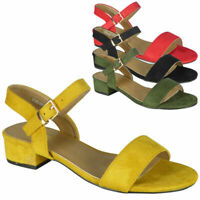 Ladies Ankle Strap Summer Comfy Bridal Party Womens Sandals Casual Shoes Size