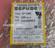 "SF188E SEFUSE consolidadas NEC Fusible Térmico 192 ° C 10A 250V Reino Unido Reino Unido stock empresa/""/"""