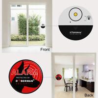 DOBERMAN SECURITY 100dB Wireless Door & Window Alarm Vibration Alert Sensor
