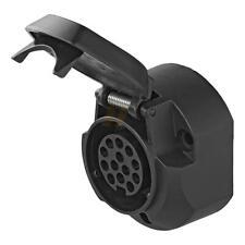Steckdose 13-polig Jaeger mit Mikroschalter 7 Cm schwarz ProPlus