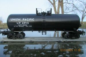 MTH O Gauge Union Pacific UP #69713 Tank Car #20-90023E
