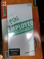 "FUNEMPLOYED ""The Interview Game of Actual Jobs and Absurd Qualifications"" NEW"
