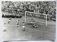 photo press football France -Bresil    Coupe Monde 1958  379