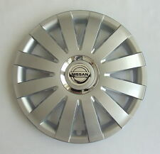 13'' Wheel trims Hub Cups for Nissan Micra  4 x 13'' silver