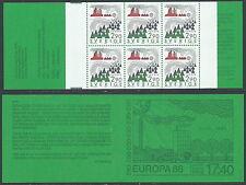 1986 EUROPA SVEZIA LIBRETTO MNH ** - VS
