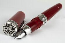 """Delta Limited Edition """"Alfa Romeo"""" Red Fountain Pen"""