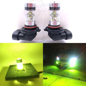 4X  High Power 9005 HB3 H10  20W LED 4300K yellow Fog Light DRL Lamp Bulbs
