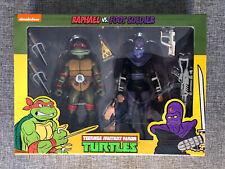 """NECA Raphael & Foot Soldier Cartoon 2-Pack TMNT Teenage Mutant Ninja Turtles 7"""""""
