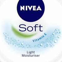 NIVEA Soft Light Moisturiser With Vitamin E, 200ml Free Shipping