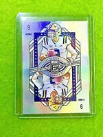 JOE BURROW SILVER PRIZM ROOKIE CARD BENGALS RC 2020 Donruss Elite ROOKIE ON DECK