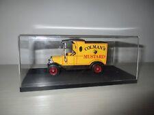 FORD MODEL T COLMAN'S MUSTARD 1912 MATCHBOX