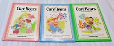 Vintage 80's Care Bears books Hardcover Lot of 3 Parker Brothers PRISTINE