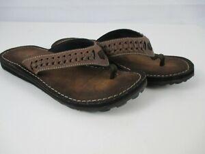 New Clarks Flip Flop Sandal Brown Women's Shoes