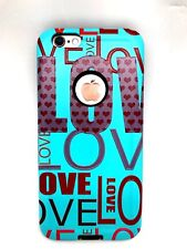 iPhone 7 Cover Colorful Love  Hard Hybrid Case