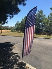 **SALE***FEATHER FLAG 6FT WITH POLE