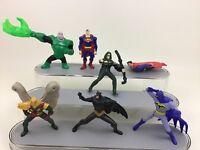 Green Arrow Hawkman Justice League DC Universe Toy 7pc Lot Action Figures A1