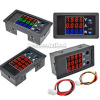 0.28''DC 100V 10A 1000W Voltage Current Power Meter Digital LED Thermostat