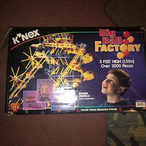 K'NEX 63045 Original Big Ball Factory Set Bagged in Box Extras