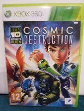 Ben 10 Ultimate Alien Cosmic Destruction Xbox 360 Free Post Christmas Birthday