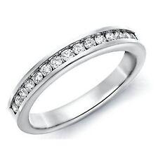 Wedding 9 Carat White Gold I1 Fine Diamond Rings