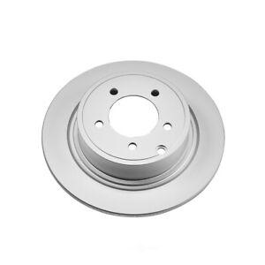 Disc Brake Rotor-Rear Genuine Geomet Coated Rotor Rear Power Stop AR83069EVC