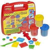 13, 17, 29 Or 34 Piece Play Dough Craft Gift Set Tubs Shapes Children Toys Xmas