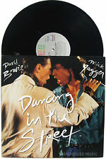 "DAVID BOWIE + MICK JAGGER 12"" Dancing In The Street - Steve Thompson MIX / DUB"
