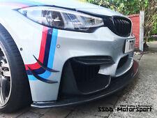 DTM Inspired Carbon Fibre Bumper Canards Blades BMW M2 M3 M4 M235i M240i M135i