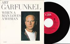 "Art Garfunkel - When A Man Loves A Woman/King Of Tonga, 7"" Single 1988 NMint"