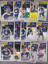 1983 - 84 OPC Team SET Lot of 15 LA KINGS NM+ o-pee-chee NICHOLLS DIONNE TAYLOR