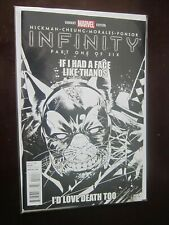 Infinity (2013 Marvel) #1G - 9.2 - 2013 - Party Sketch Variant