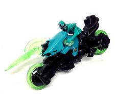 "POWER RANGERS Samurai 8"" Motorbike & Green Rider figure, Great condition NICE!"