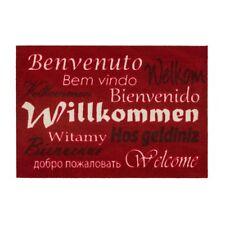 Fussmatte Homelike Willkommen rot 50x70 cm