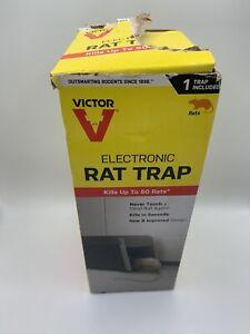 Victor M241 Eletric Rat Trap Kill Voltage Shock Black