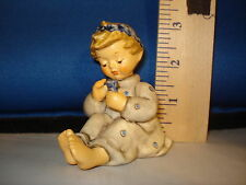 Hummel Blossom Time German Porcelain 3 inches #006 Cab 2