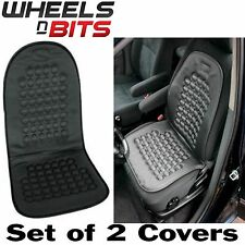 2x Universal Car Seat Cover Black Massage Health Cushion Winter Warmer Protector